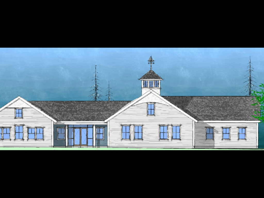 Carroll Town Hall Elevation