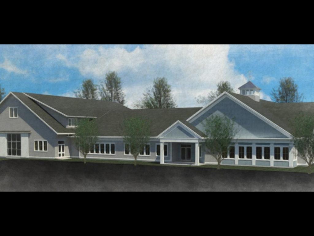 Moultonborough Community Center Watercolor 8